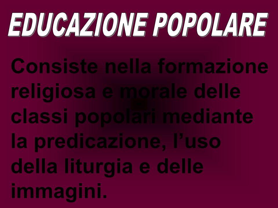 EDUCAZIONE POPOLARE