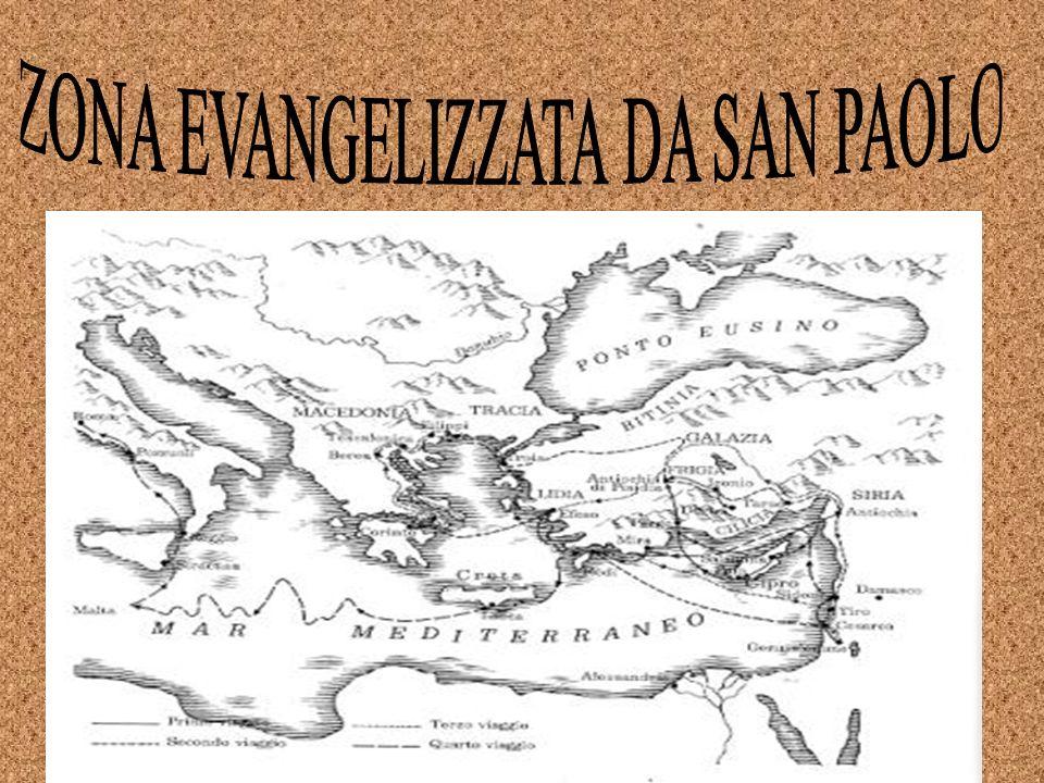 ZONA EVANGELIZZATA DA SAN PAOLO