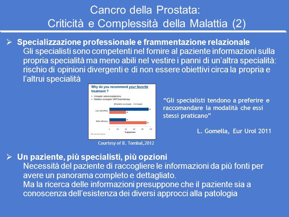 Cancro della Prostata: Criticità e Complessità della Malattia (2)