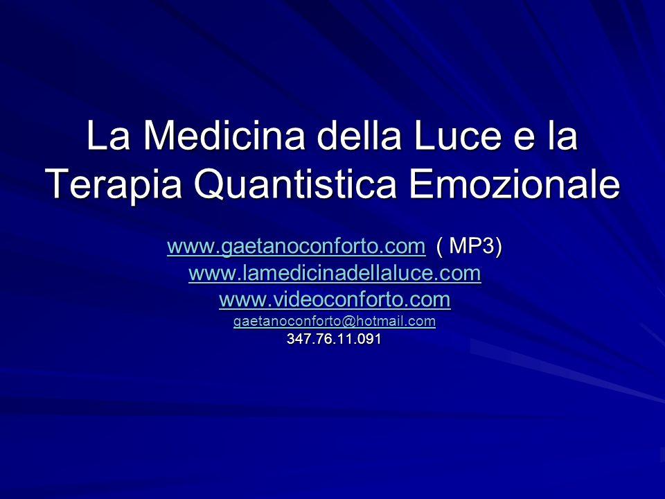 La Medicina della Luce e la Terapia Quantistica Emozionale