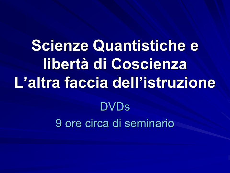 DVDs 9 ore circa di seminario