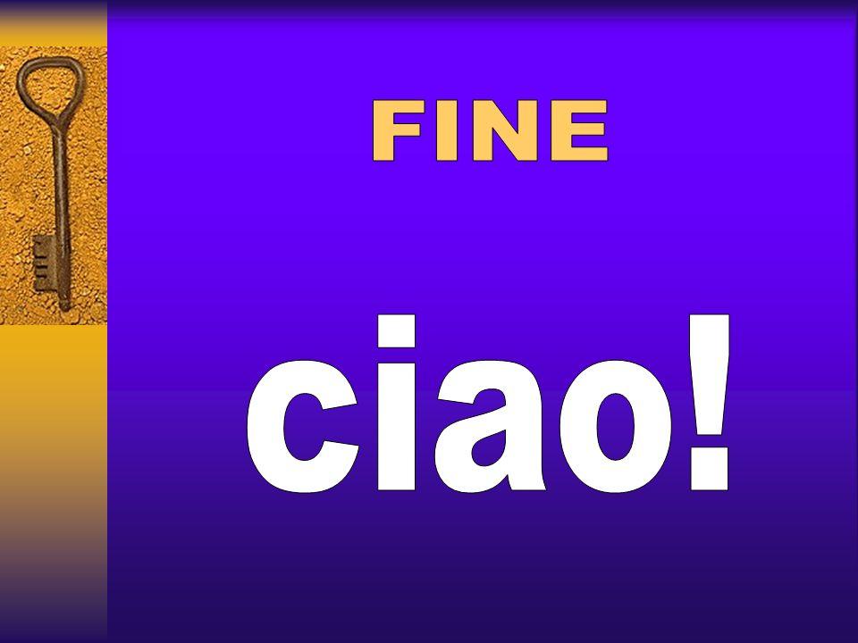 FINE ciao!
