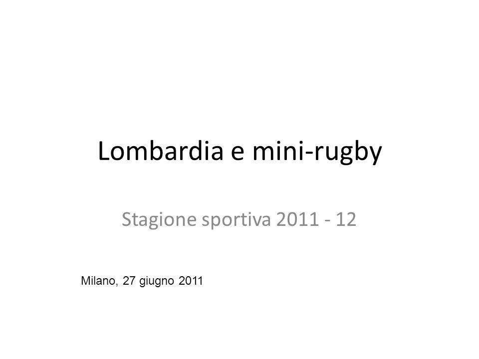 Lombardia e mini-rugby