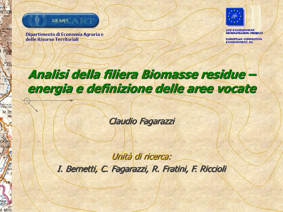 I. Bernetti, C. Fagarazzi, R. Fratini, F. Riccioli