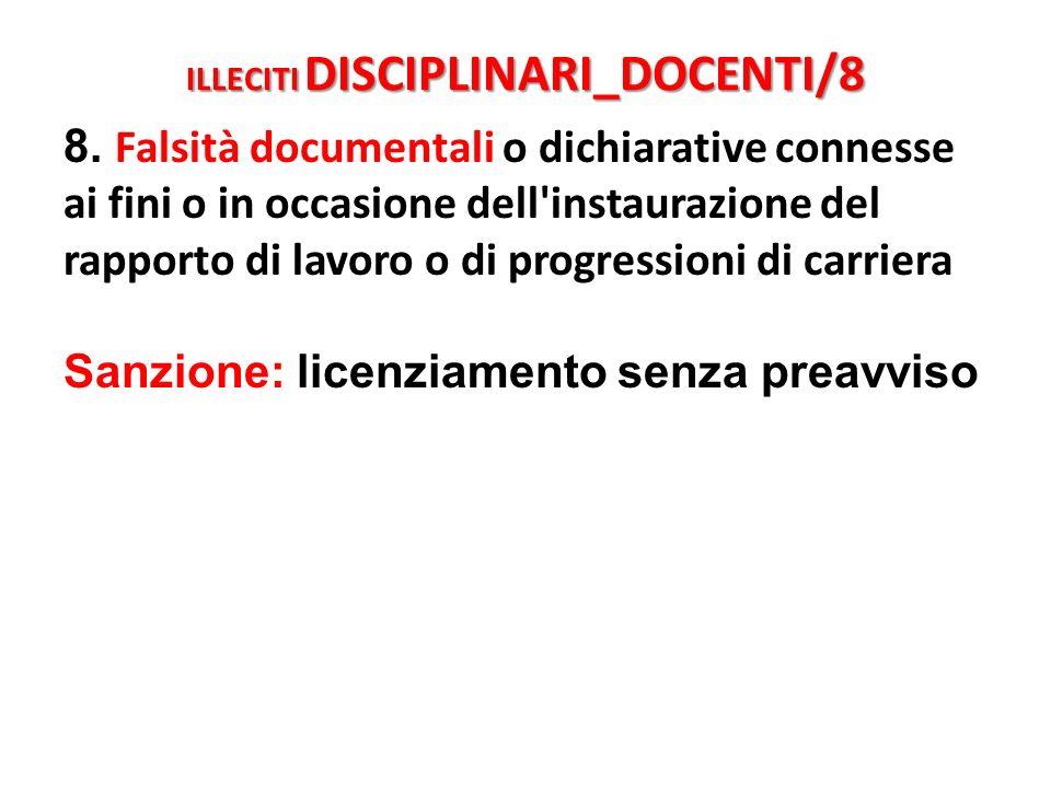 ILLECITI DISCIPLINARI_DOCENTI/8