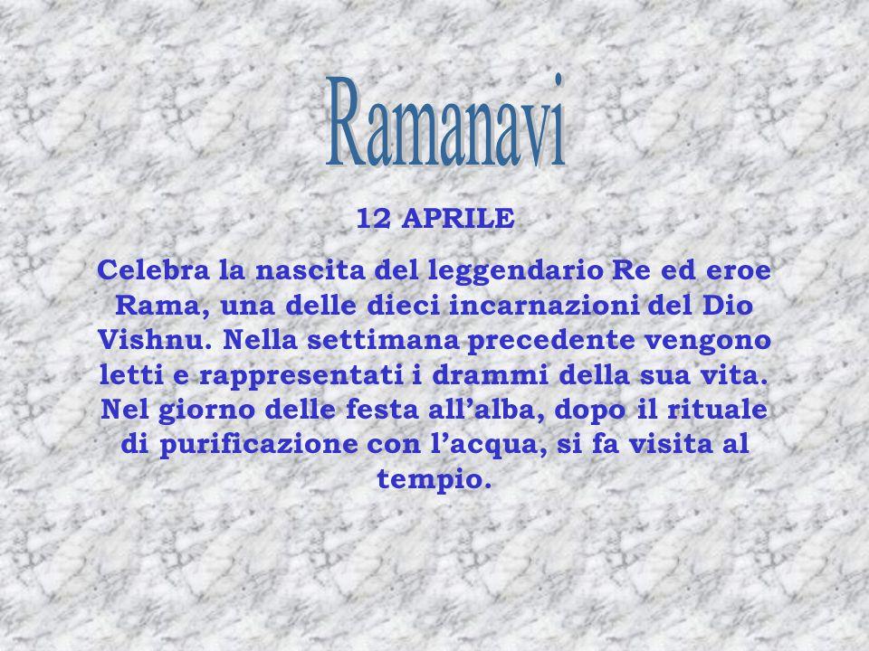 Ramanavi 12 APRILE.