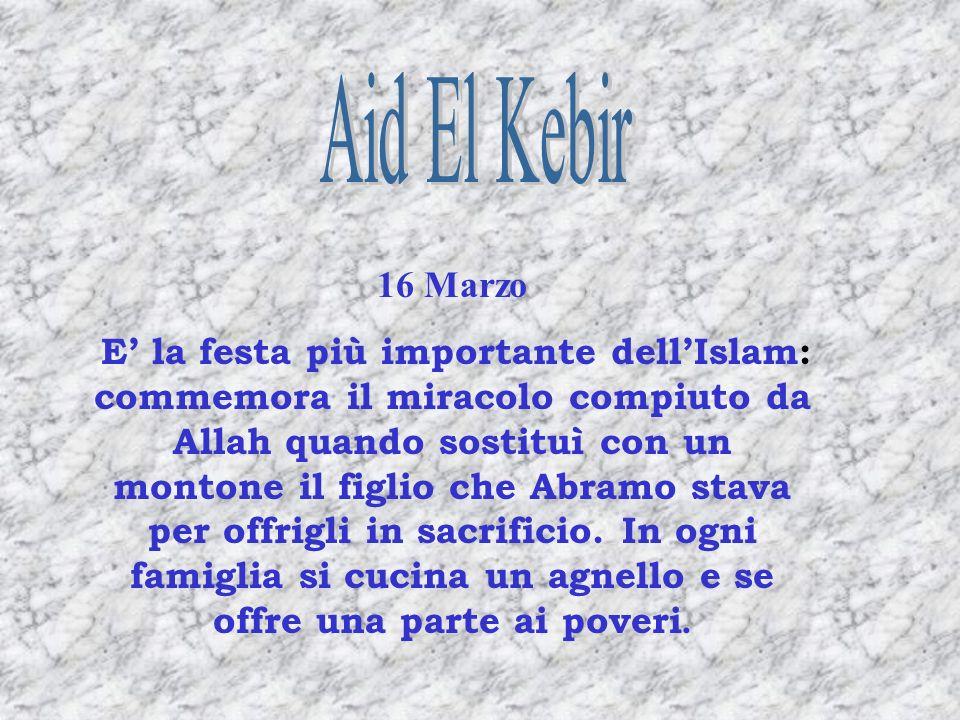Aid El Kebir 16 Marzo.