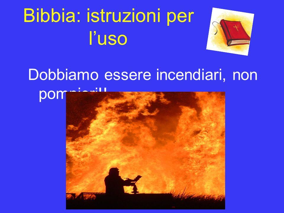Bibbia: istruzioni per l'uso