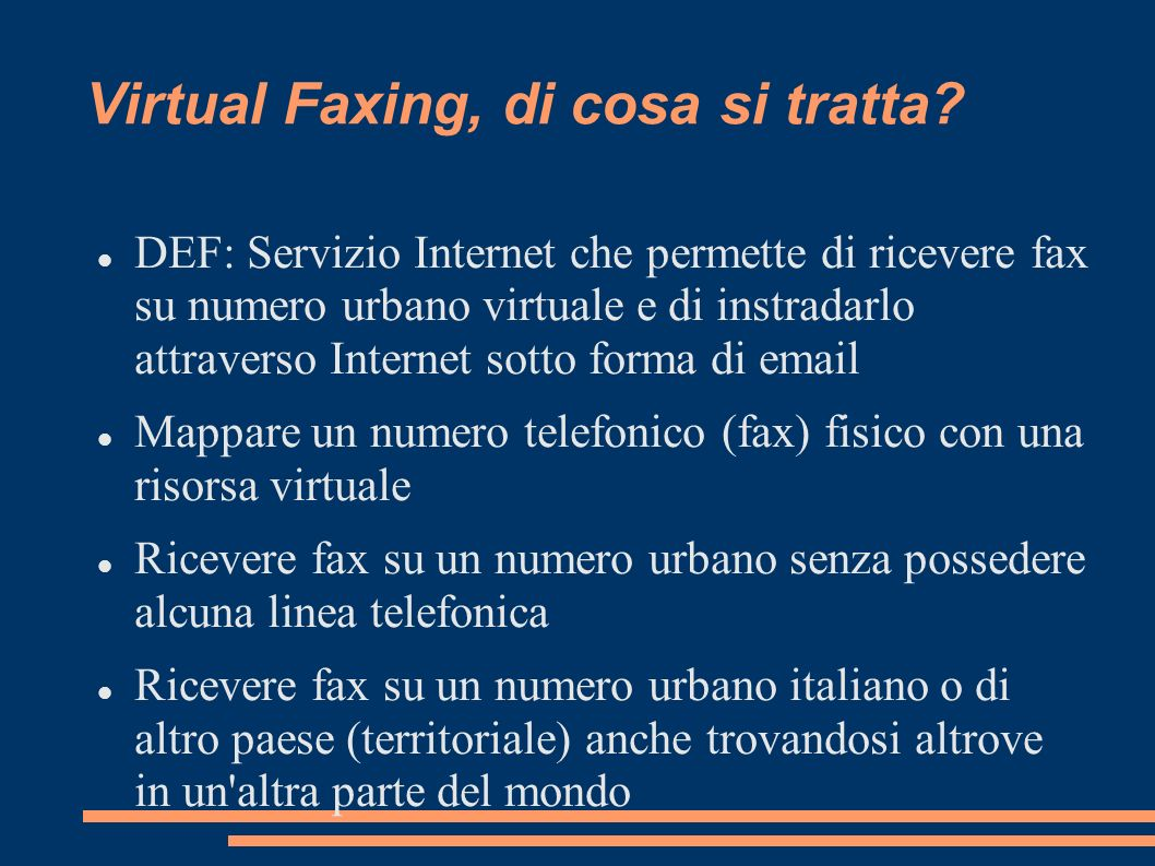 Virtual Faxing, di cosa si tratta