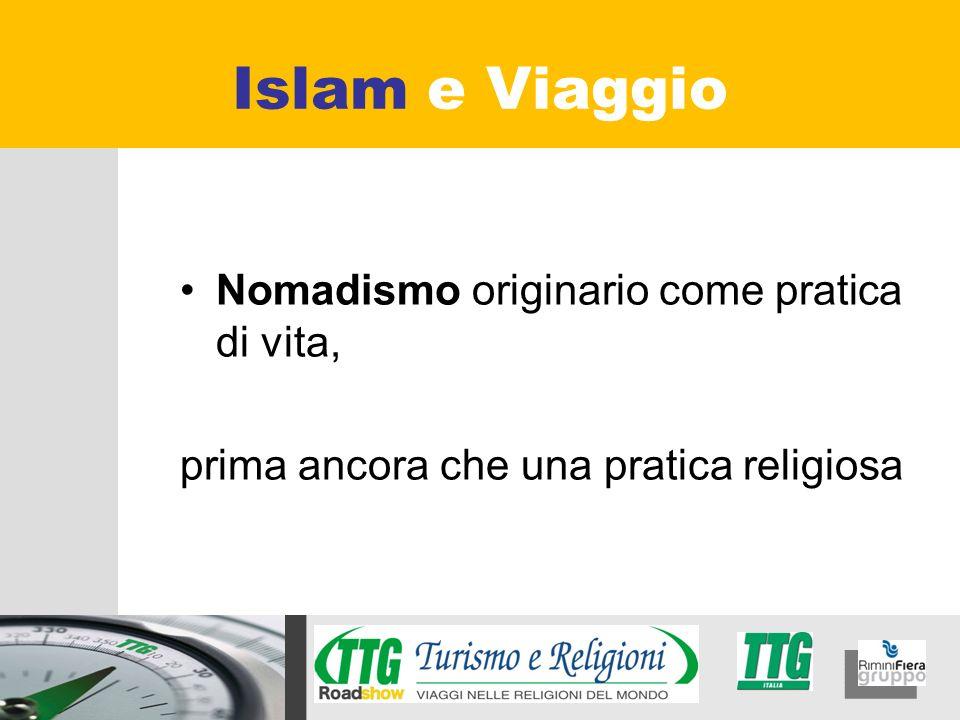 Islam e Viaggio Nomadismo originario come pratica di vita,
