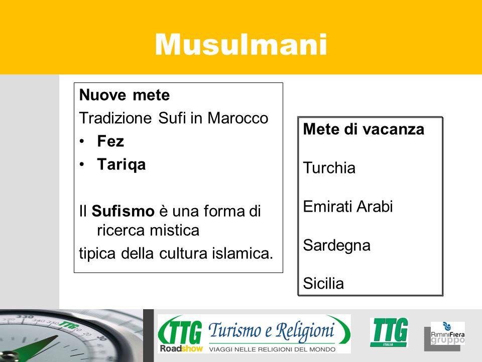 Musulmani Nuove mete Tradizione Sufi in Marocco Fez Tariqa