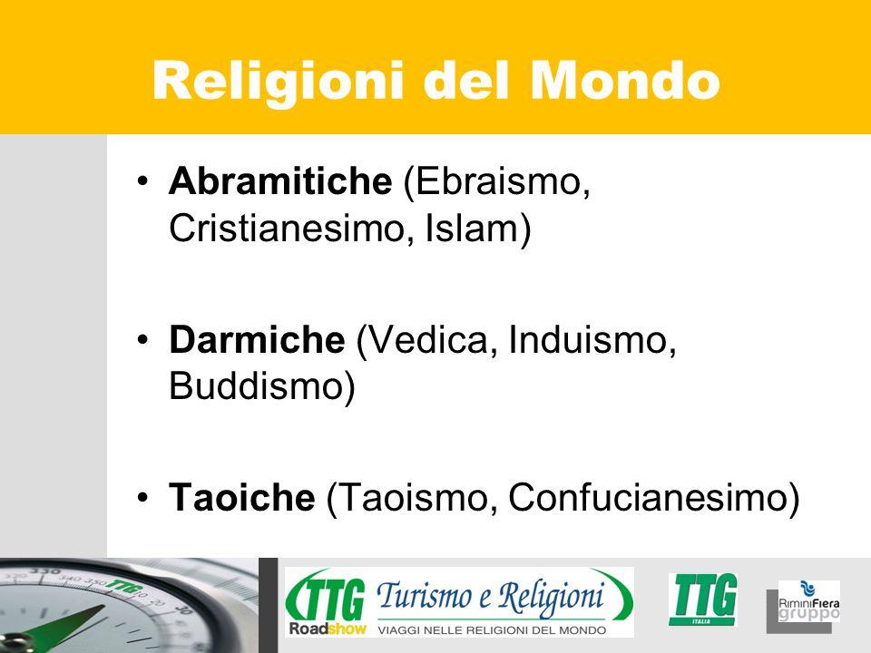 Religioni del Mondo Abramitiche (Ebraismo, Cristianesimo, Islam)