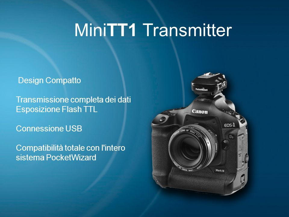 MiniTT1 Transmitter Design Compatto