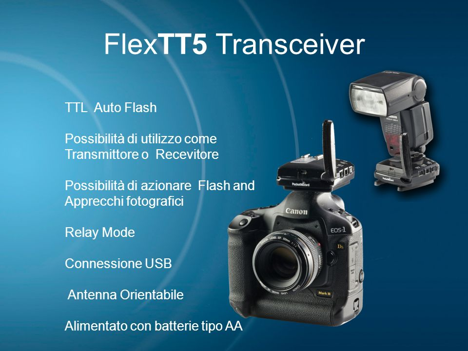 FlexTT5 Transceiver TTL Auto Flash