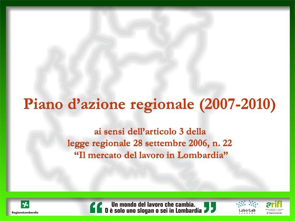 Piano d'azione regionale (2007-2010)