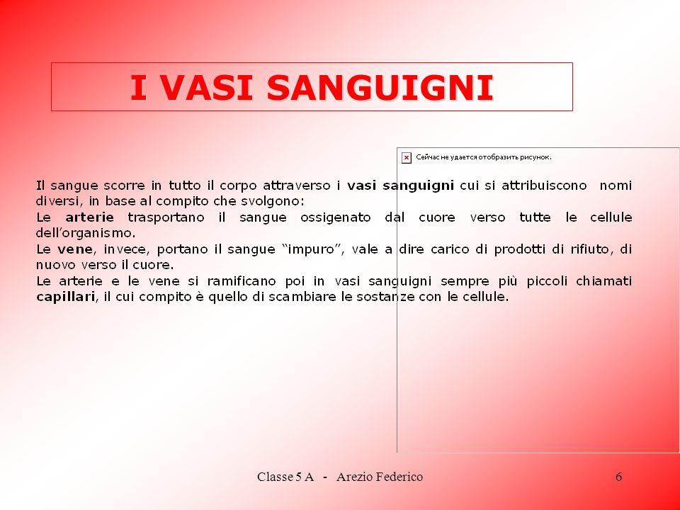 Classe 5 A - Arezio Federico