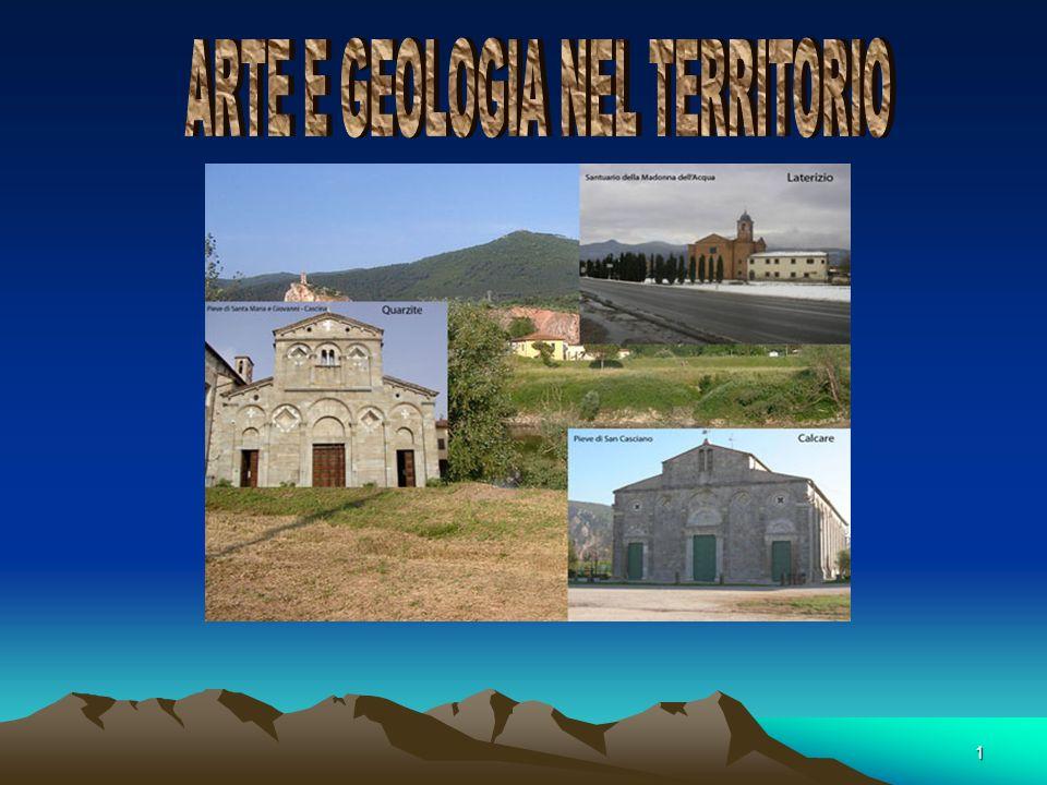 ARTE E GEOLOGIA NEL TERRITORIO