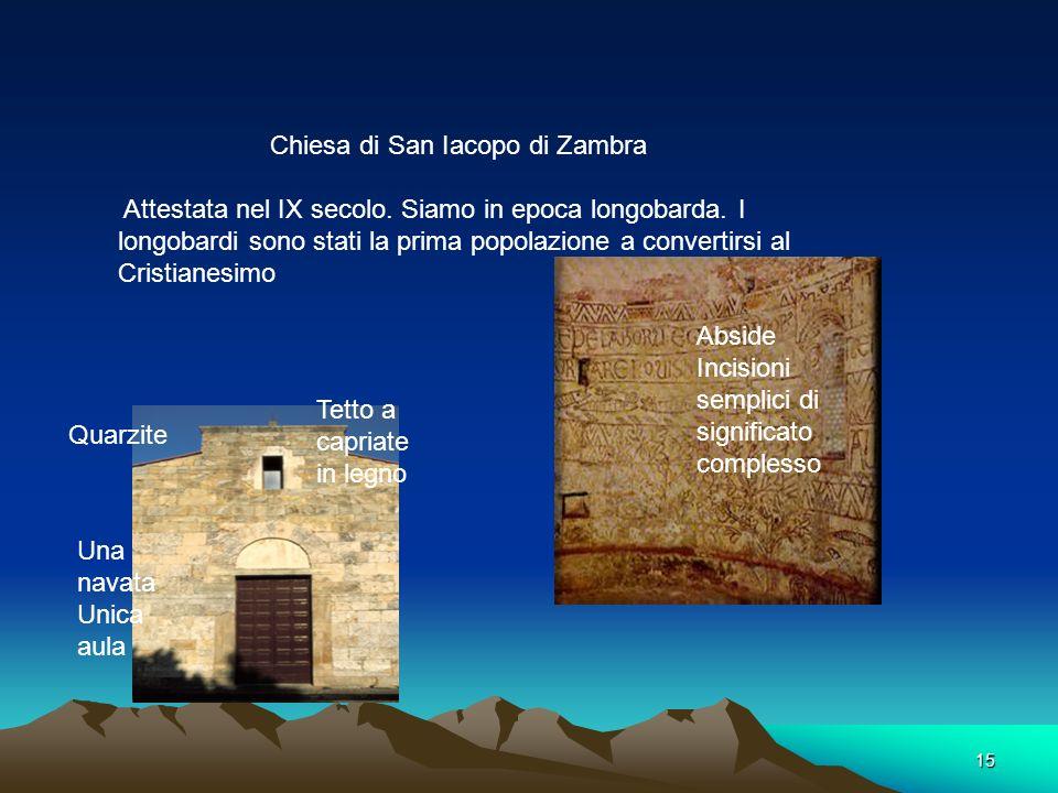 Chiesa di San Iacopo di Zambra