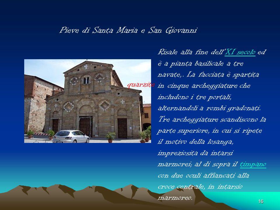 Pieve di Santa Maria e San Giovanni