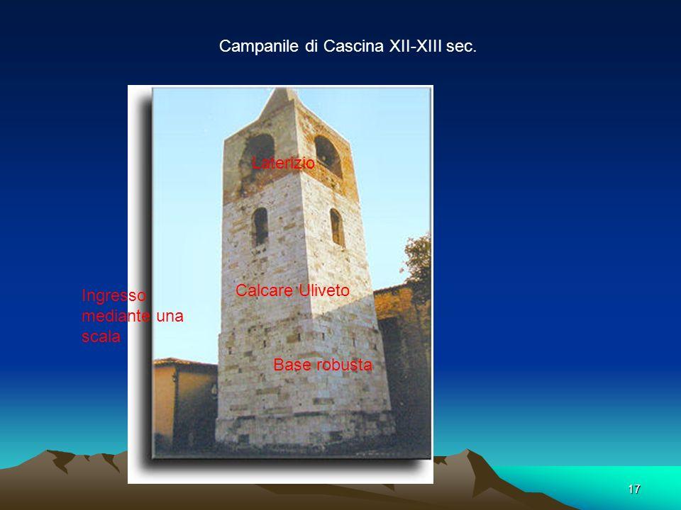 Campanile di Cascina XII-XIII sec.