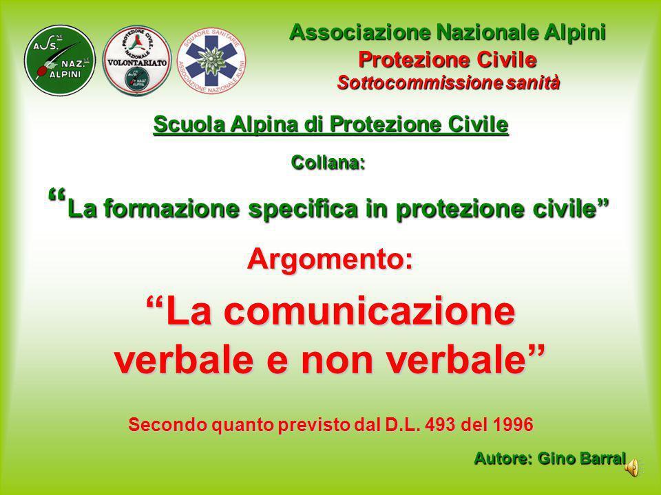 Collana: La formazione specifica in protezione civile