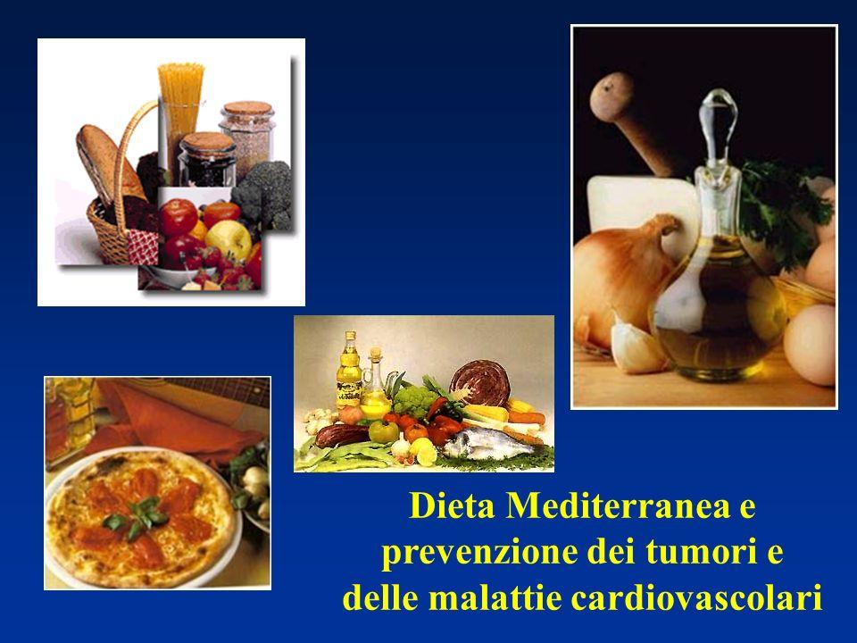 Dieta Mediterranea e prevenzione dei tumori e