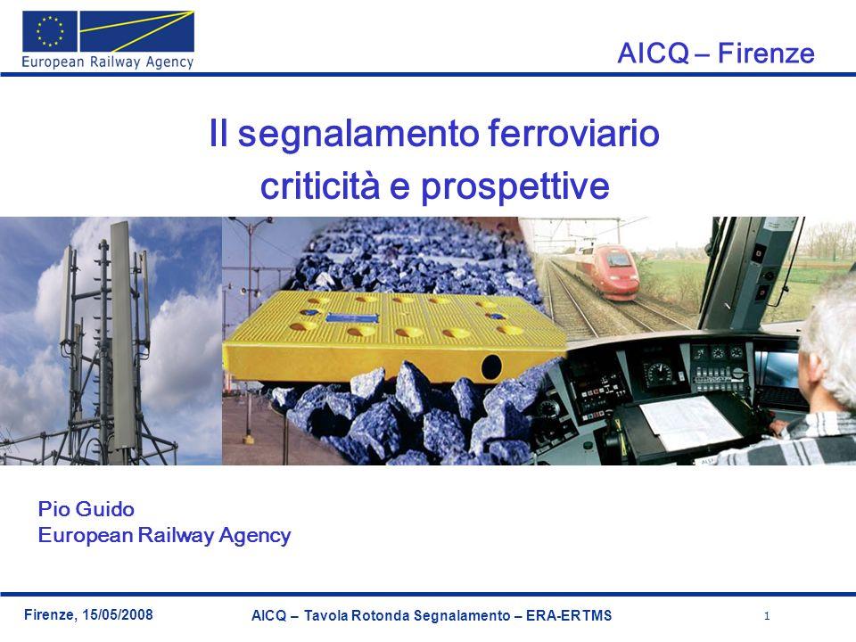 Il segnalamento ferroviario criticità e prospettive