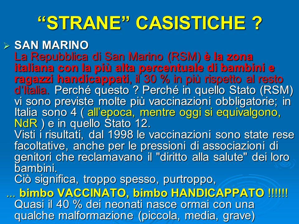 STRANE CASISTICHE