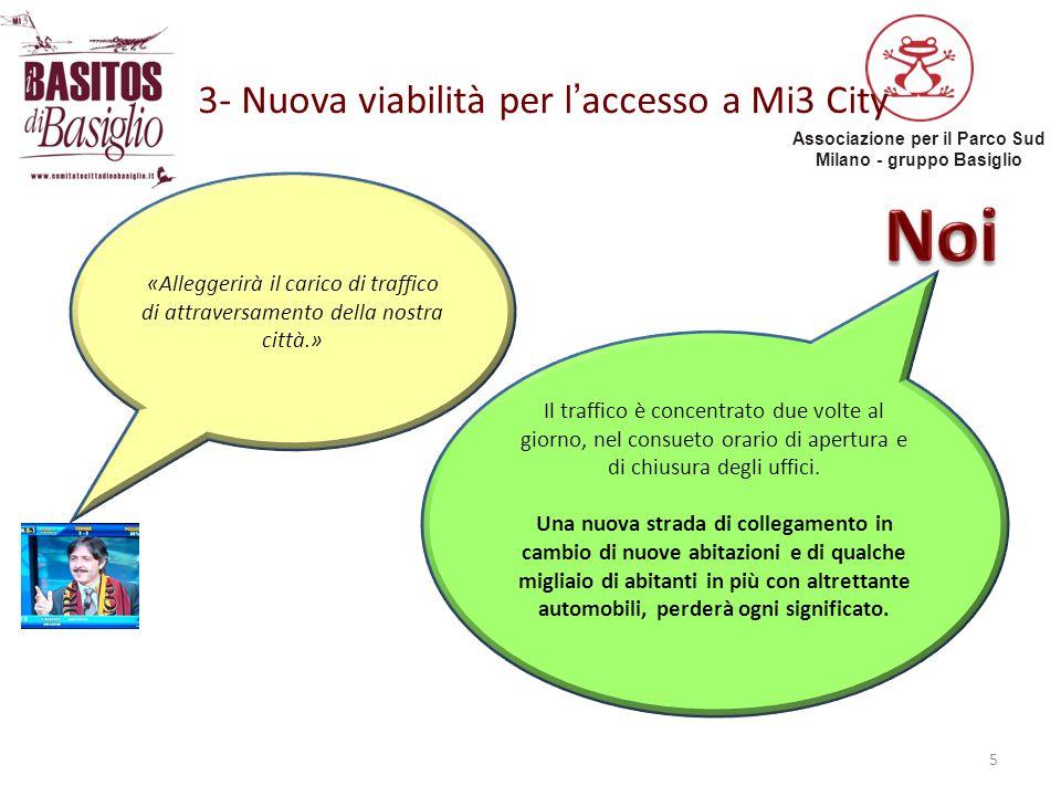 3- Nuova viabilità per l'accesso a Mi3 City