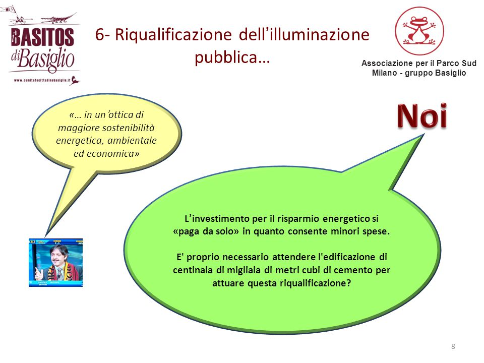 6- Riqualificazione dell'illuminazione pubblica…