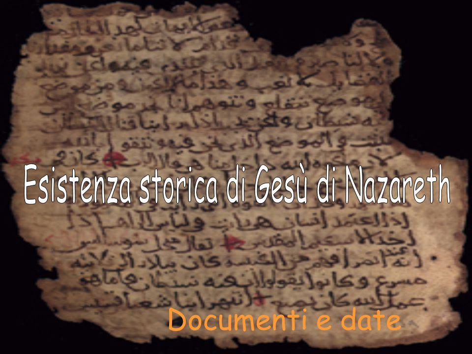 Esistenza storica di Gesù di Nazareth