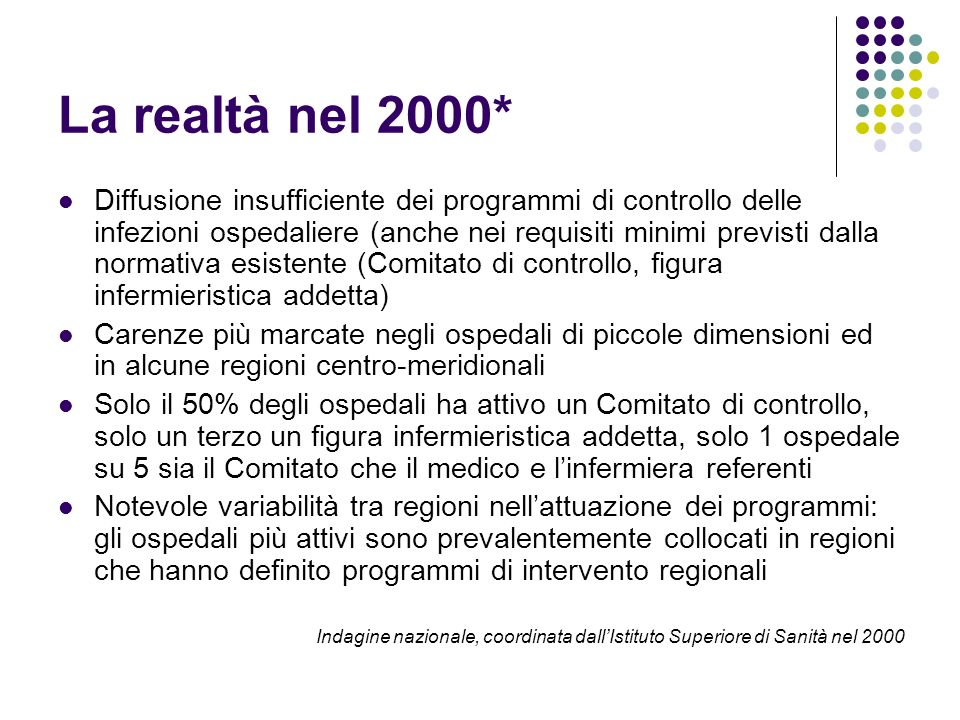 La realtà nel 2000*