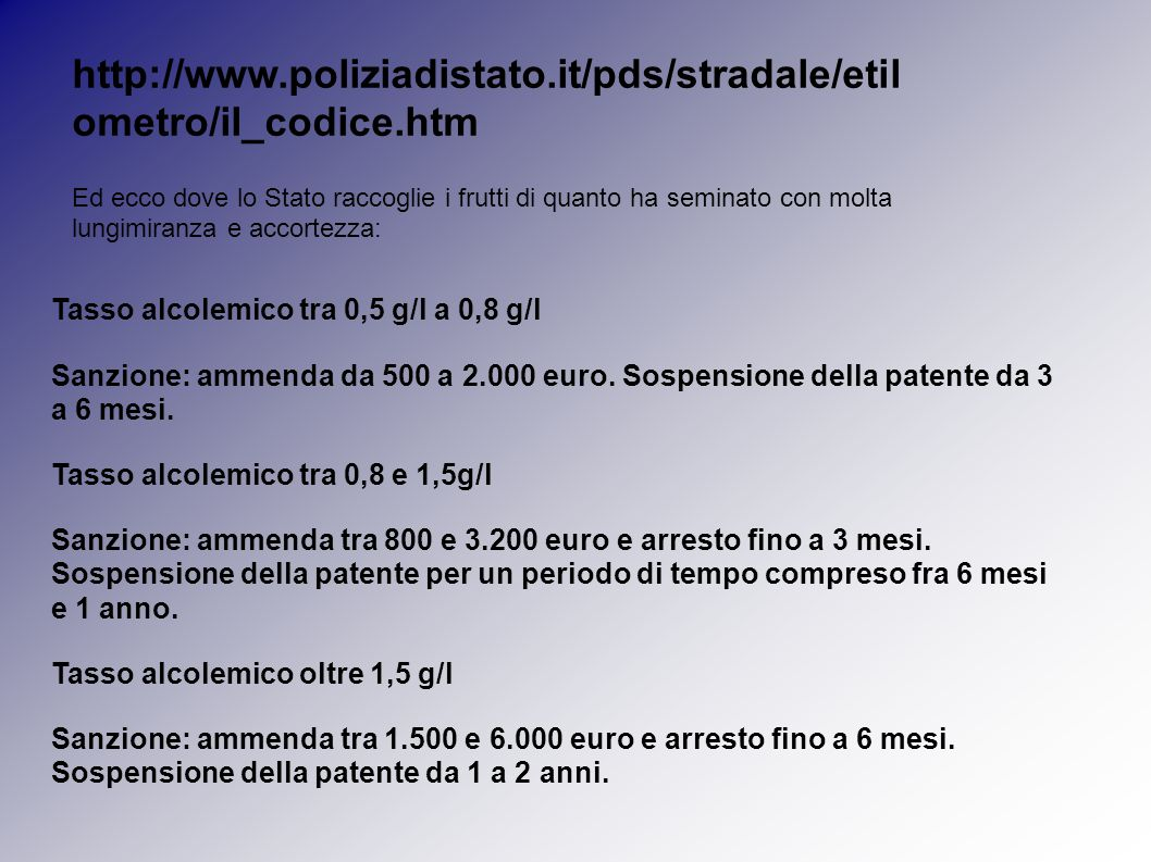 http://www.poliziadistato.it/pds/stradale/etilometro/il_codice.htm