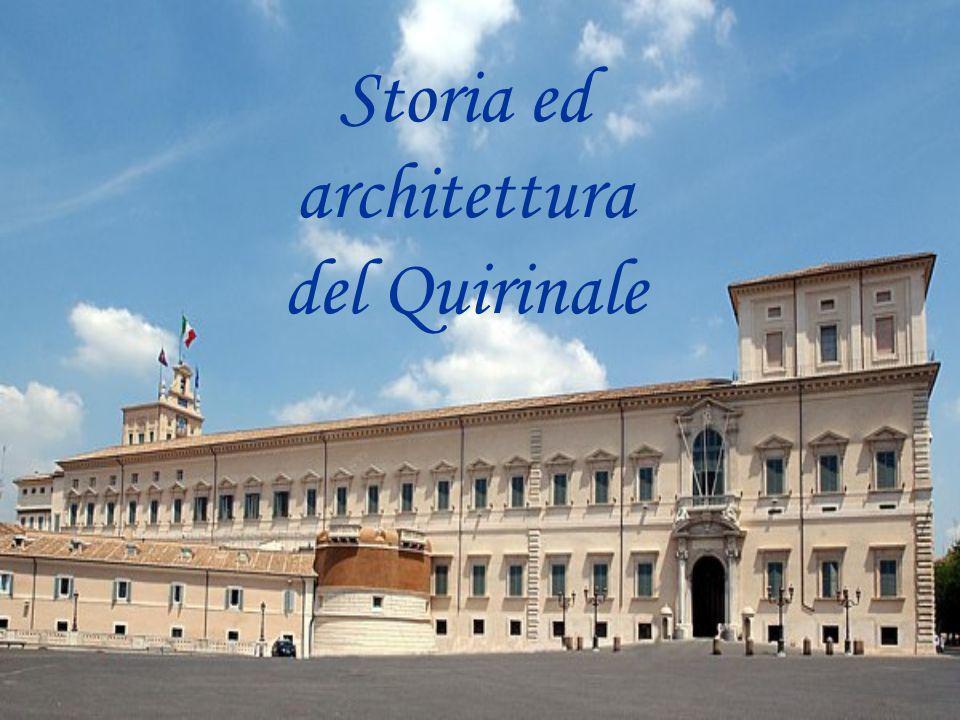 Storia ed architettura del Quirinale