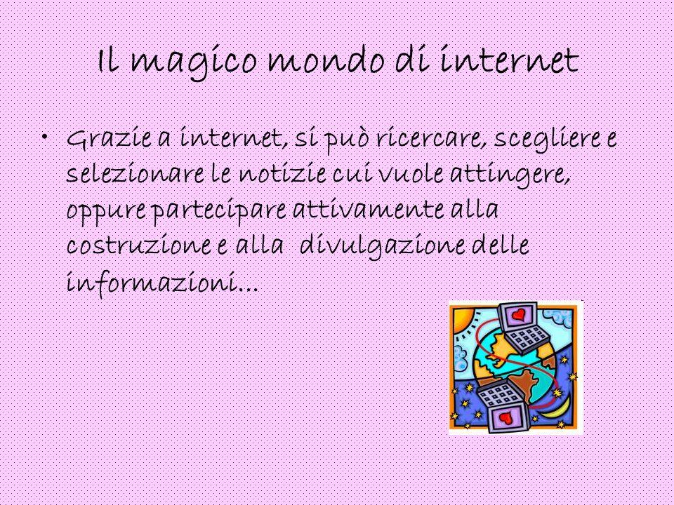 Il magico mondo di internet