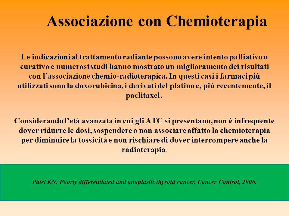 Associazione con Chemioterapia