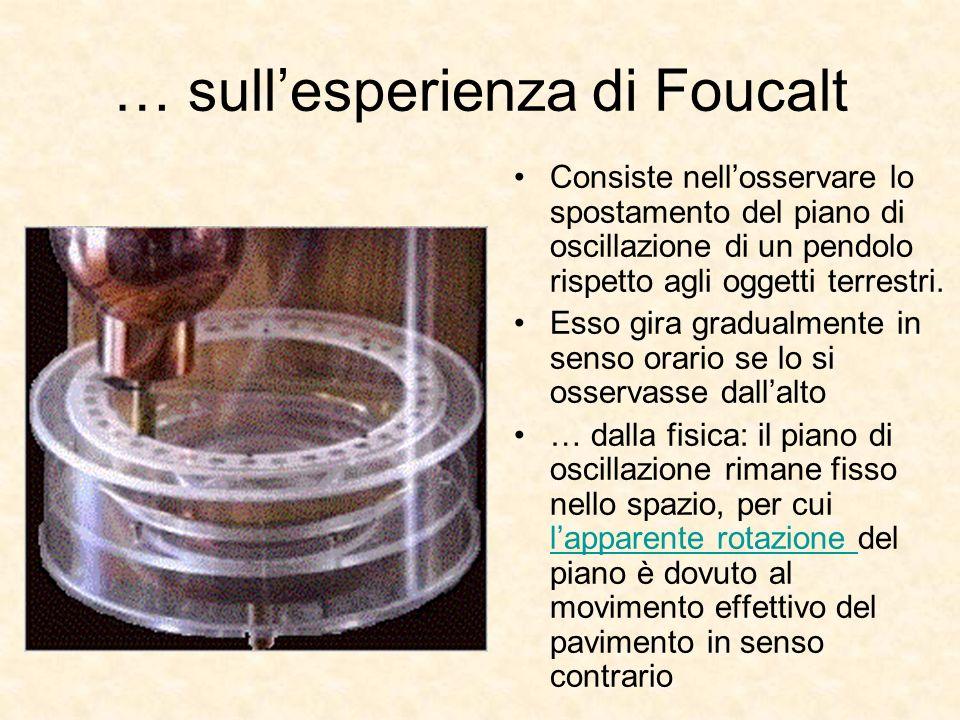 … sull'esperienza di Foucalt