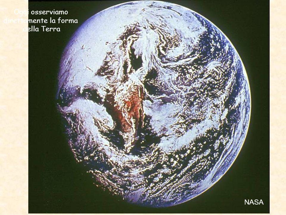 Oggi osserviamo direttamente la forma della Terra NASA 3