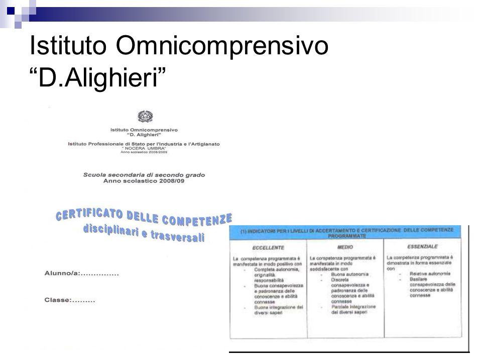 Istituto Omnicomprensivo D.Alighieri