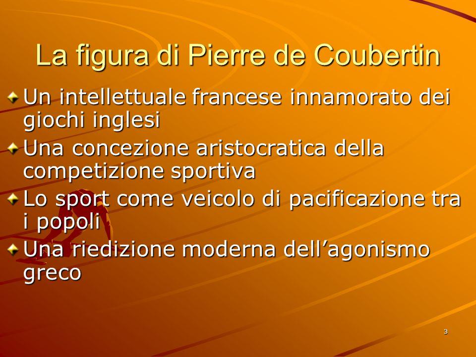 La figura di Pierre de Coubertin
