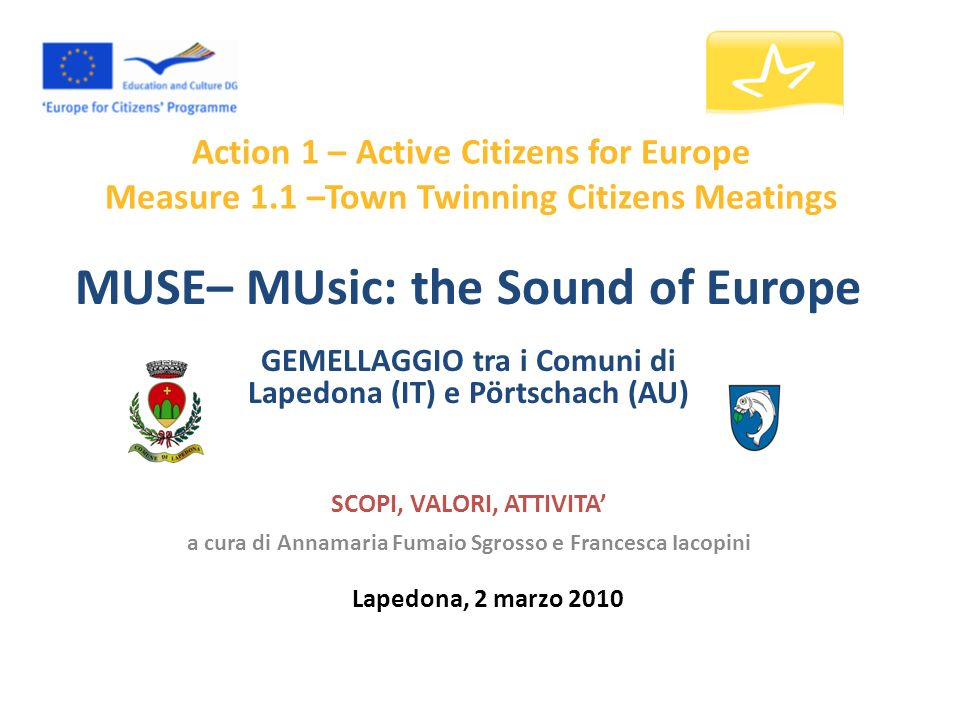 MUSE– MUsic: the Sound of Europe