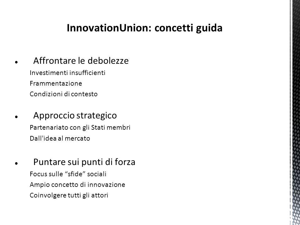 InnovationUnion: concetti guida