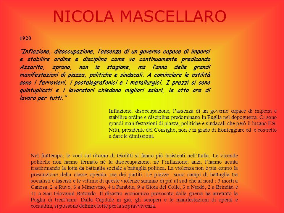 NICOLA MASCELLARO 1920.