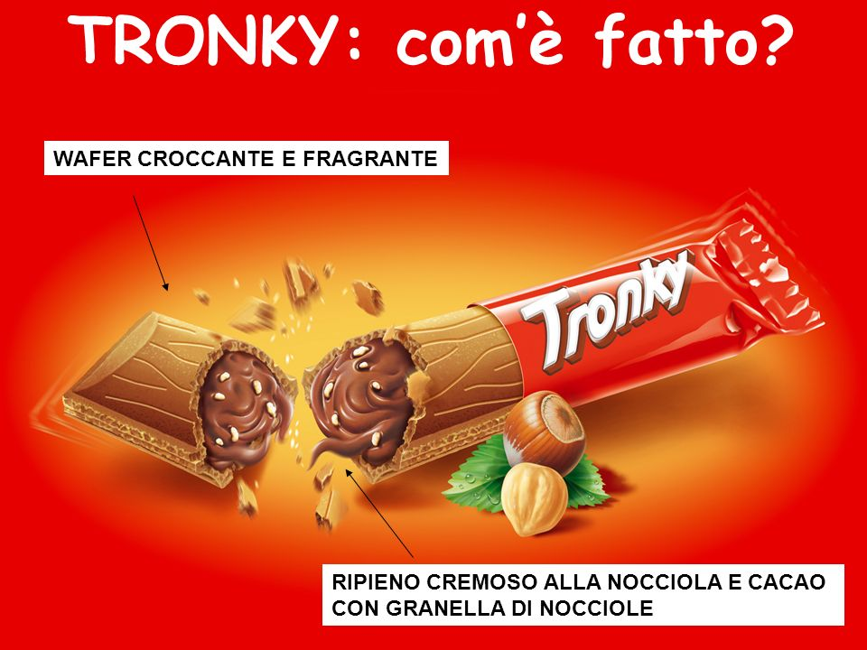 TRONKY: com'è fatto WAFER CROCCANTE E FRAGRANTE