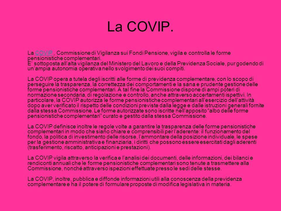 La COVIP.