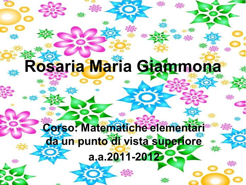 Rosaria Maria Giammona