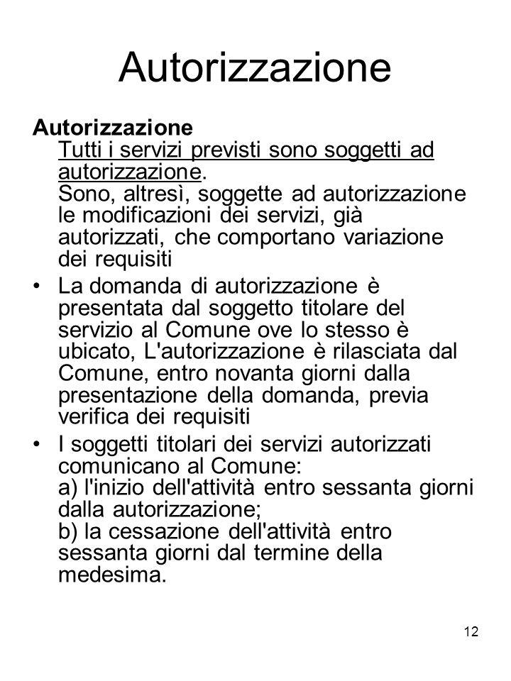 Autorizzazione