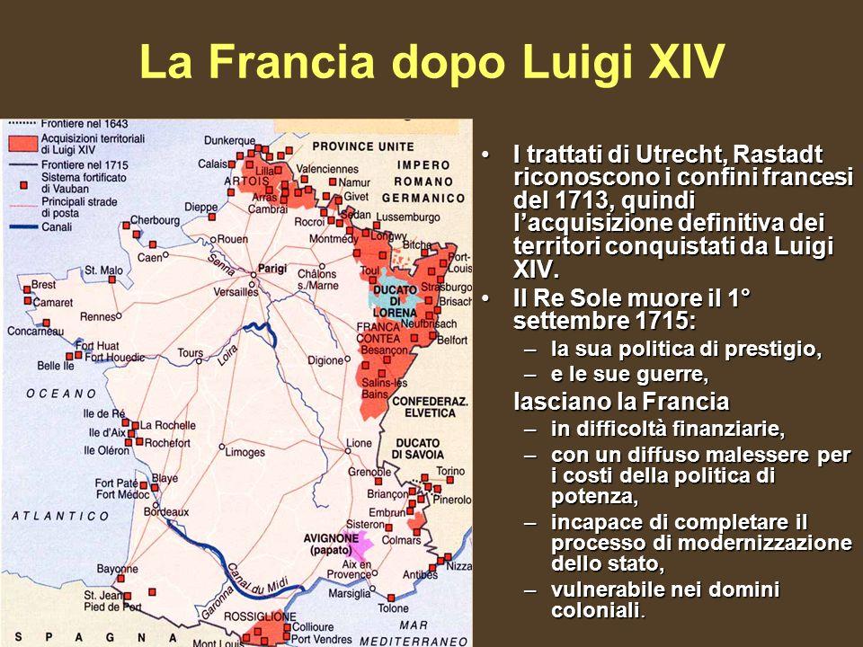La Francia dopo Luigi XIV