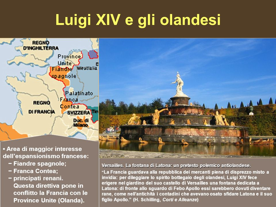Luigi XIV e gli olandesi