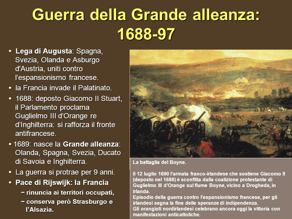 Guerra della Grande alleanza: 1688-97